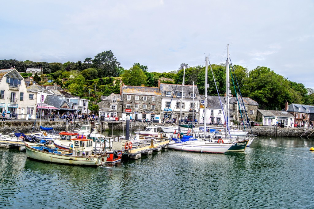 Harbour in Padstow, Cornwall