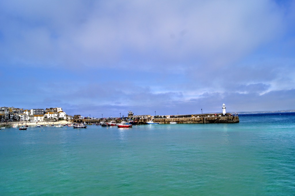 the Harbour in St Ives