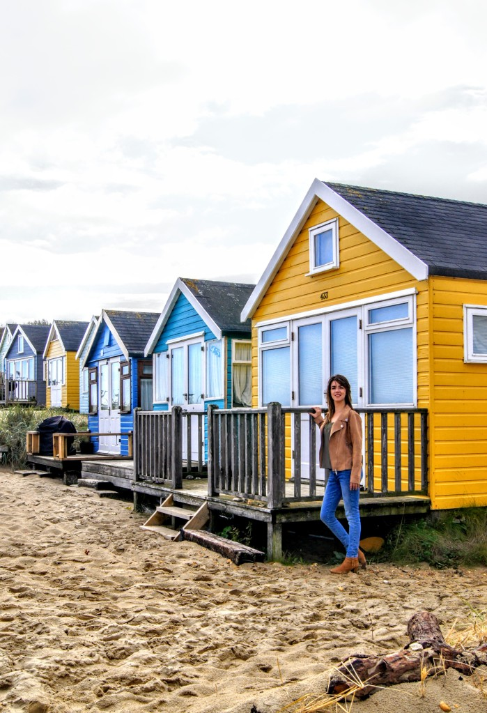 Mudeford beach huts