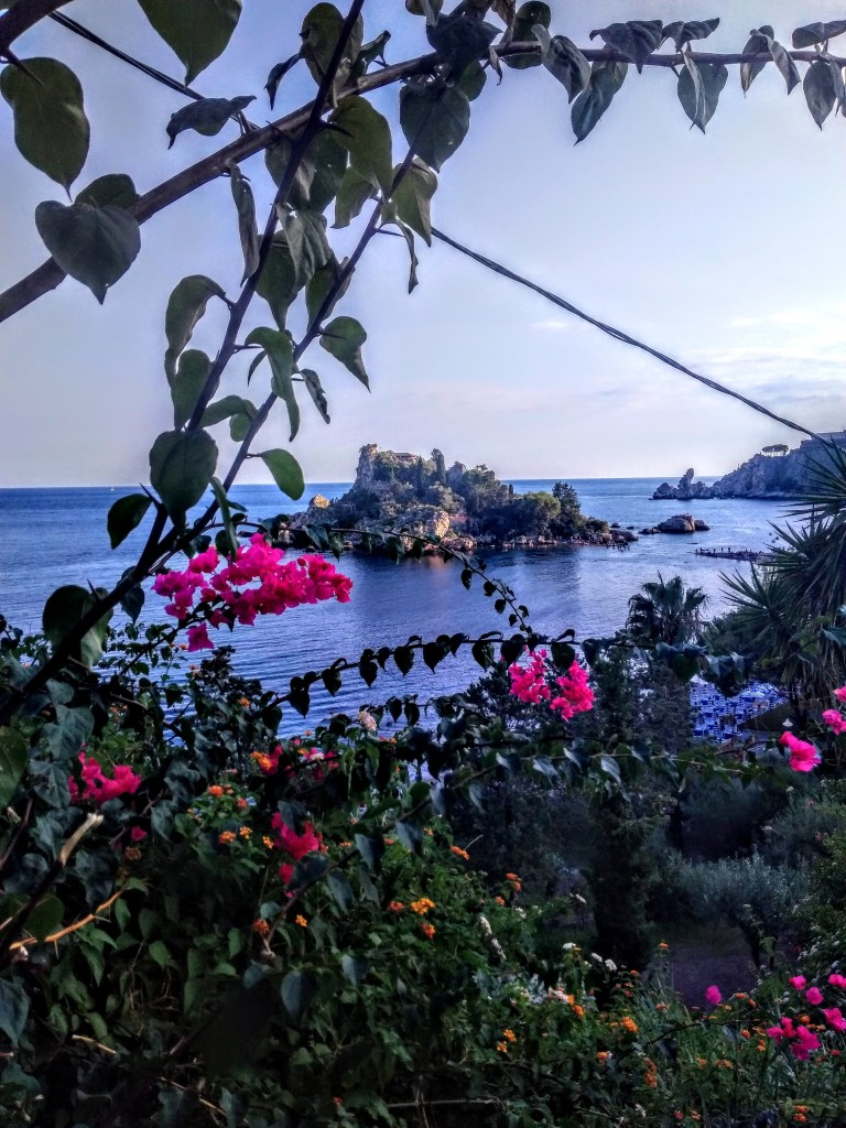 Isolla Bella in Taormina - translated as a Beautiful Island
