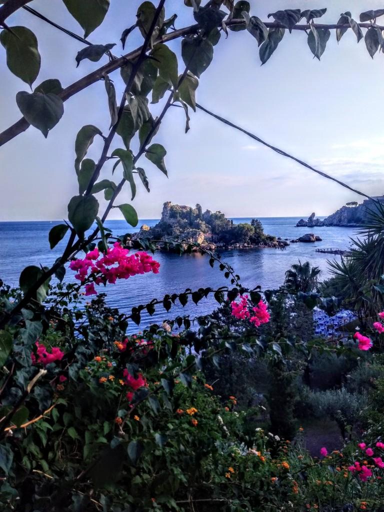 Isolla Bella in Taormina - translated as a Beautiful Island