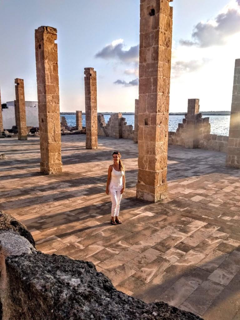 the ruins of the ancient tonnara