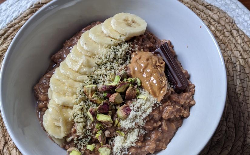 Healthy sweet porridge recipe and usefultips