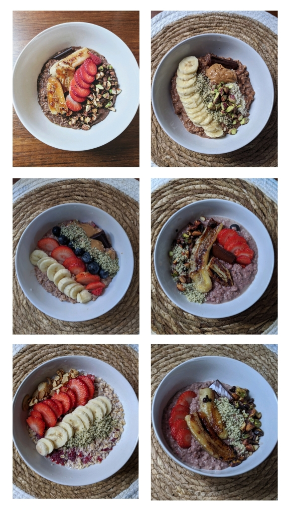 Sweet porridge recipes