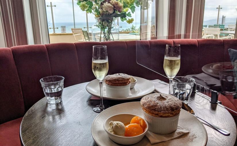 Brasserie Blanc restaurant. New Soufflé & Champagne guestconcept