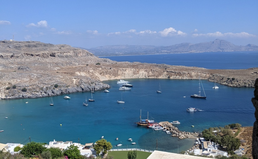 My holiday in Rhodes. What can you learn from theGreeks?